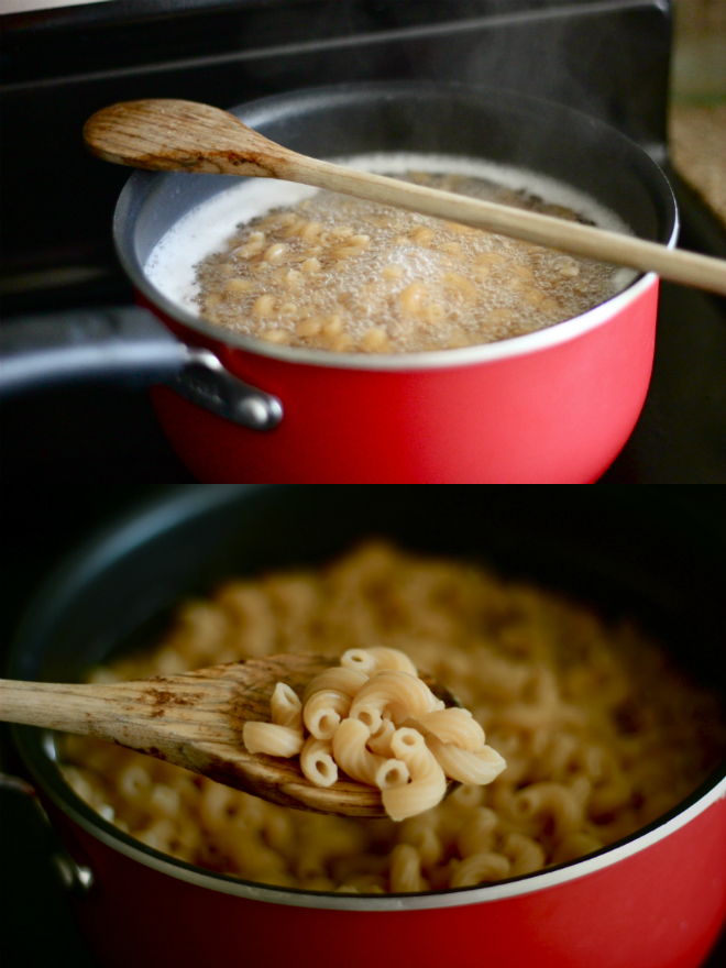 lighter baked macaroni and cheese - My SoCal'd Life