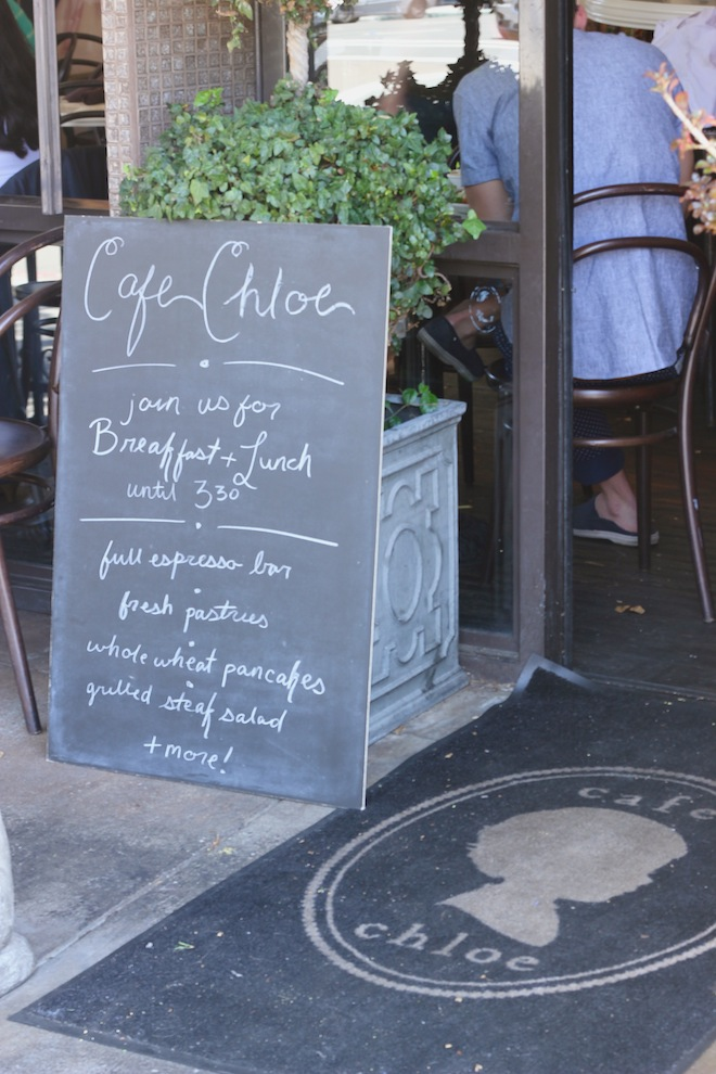 Cafe Chloe // MySoCal'd Life, a lifetsyle blog