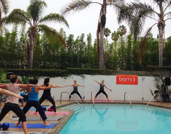 Barre3 at Hotel La Jolla, San Diego // My SoCal'd Life, a lifestyle blog
