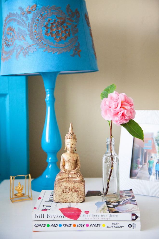 bedside table styling // My SoCal'd Life // Photo by Found Creative Studio