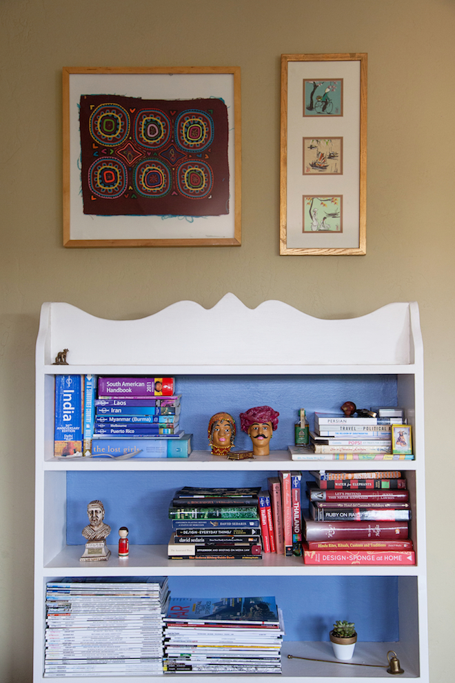 Bookshelf styling // My SoCal'd Life // Photo by Found Creative Studio