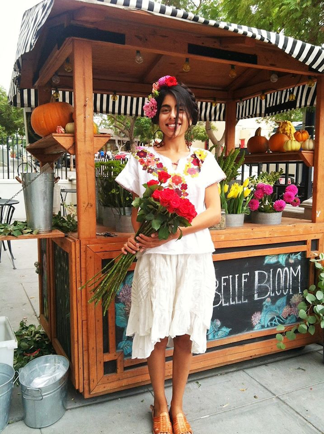 Little Italy flower cart, San Diego // My SoCal'd Life