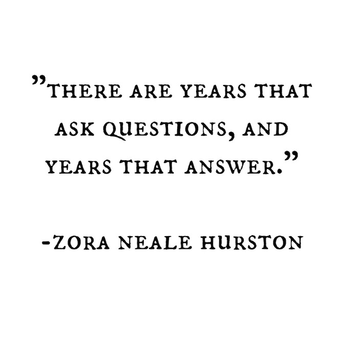 Zora Neale Hurston quote // My SoCal'd Life, a lifetstyle blog
