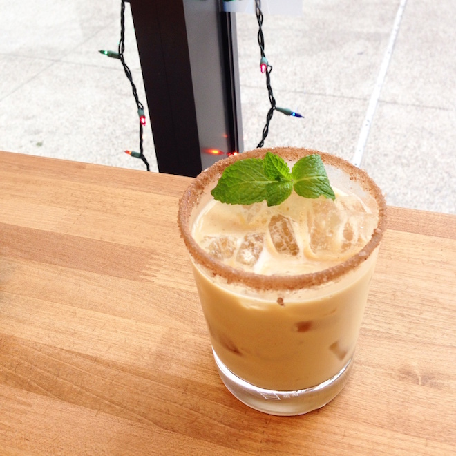 Coffee mocktail at Bean Bar in San Diego via My SoCal'd Life
