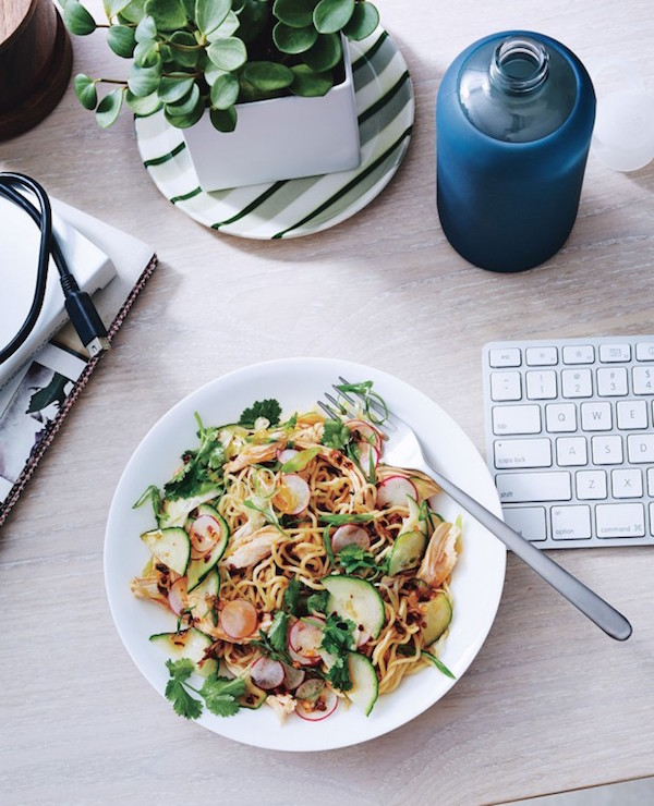 6 to-go vegetarian lunch ideas via My SoCal'd Life // photo from Bon Appetit