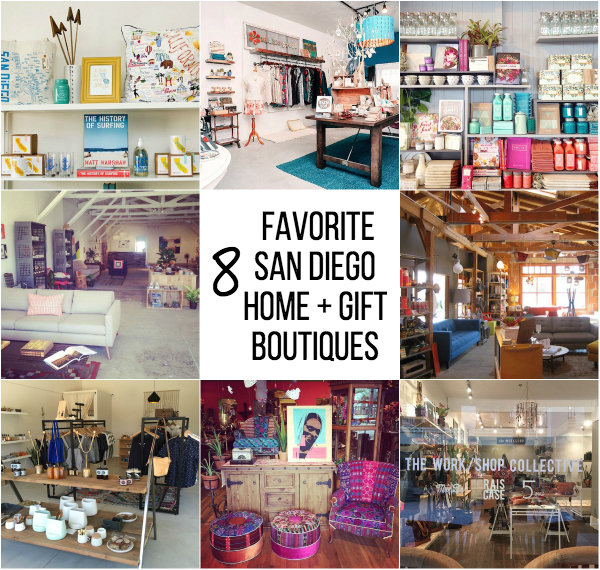 The Best Home Decor and Gift Boutiques in San Diego // My SoCal'd Life
