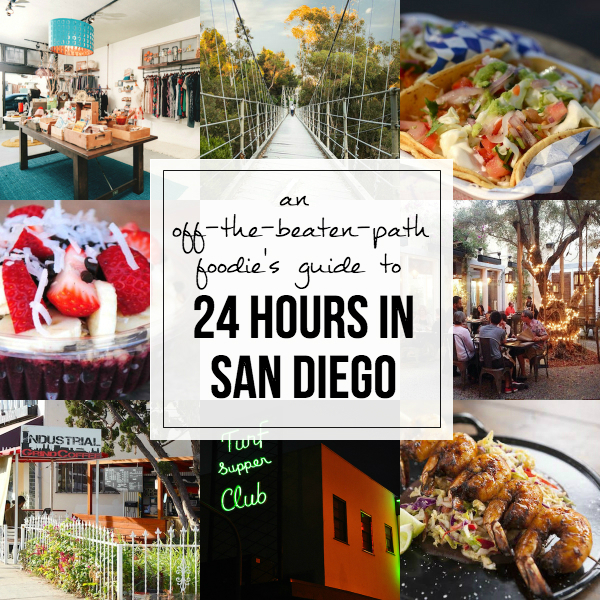 An Off-the-Beaten-Path Foodie's Guide to 24 Hours in San Diego // My SoCal'd Life