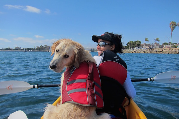 dog-friendly-kayaking-san-diego