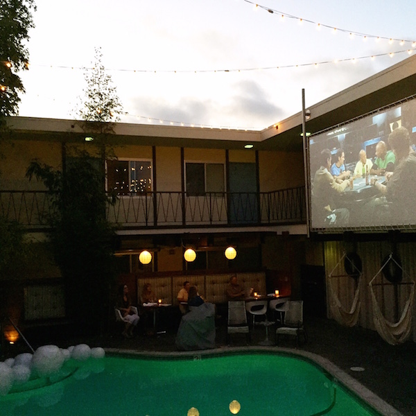 Pearl Hotel Dive-In Theater // My SoCal'd Life